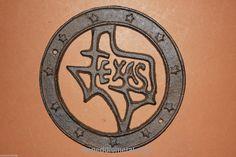 TEXAS HOME COUNTRY WESTERN DECOR, TEXAS WALL DECOR, RUSTIC CAST IRON, (W) 23