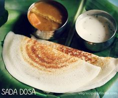 Sada dosa recipe with video and step by step photos - Crispy and tasty plain dosa recipe where the dosa batter has been made in a mixer-grinder.