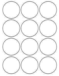 The Avengers Superhero Cupcake Toppers Round Labels Circle Template How To Make Labels