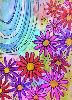 All Poster, Posters, Pattern Wallpaper, Cover Photos, Fine Art America, Daisy, Thing 1, Tapestry, Abstract