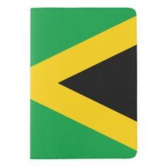 Jamaican flag passport holder
