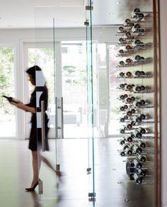 PURE Design - Edgemont Residence Wine Display