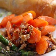 Spectacular Marsala Glazed Carrots with Hazelnuts Allrecipes.com