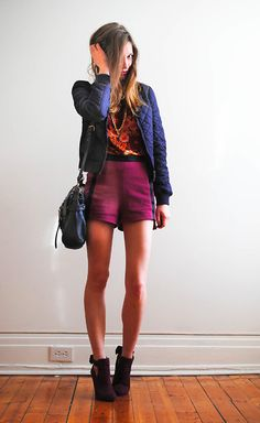 3e803515ce3f Discover this look wearing Navy Bomber H M Jackets