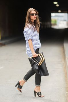 The NYFW Street Style Looks That Truly Stunned #refinery29  http://www.refinery29.com/2014/09/73987/new-york-fashion-week-2014-street-style-photos#slide-20  That that's a clutch.