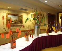 Giving Trees for School Auction  BB2011