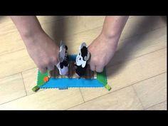 (5) Бараны Пальчиковые игрушки из фетра и сенсорные дорожки - YouTube