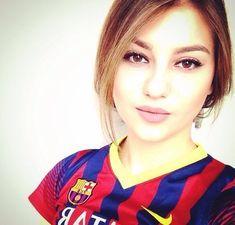 Football Girls, Barcelona, Barcelona Spain