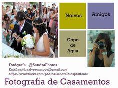@SandraPhotos: Fotografia de Casamento. O meu 3º projecto para 2015 ... Sandra Photos Love is in the air! Fotografia de Casamento. Interessados podem escrever-me para o email sandraalvescampos@gmail.com Partilhem! Obrigada.