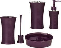 Bath Accessory Sets Cets purple