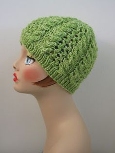 Italian Wheat Hat Balls to the Walls Knits, A collection of free one- and two- skein knitting patterns