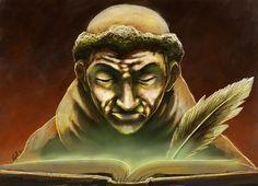 #JUEGOS #HISTORIA #ARSUNIVERSALIS #CROWDFUNDING - Tercera y última propuesta de las ilustraciones de las cartas exclusivas de personaje: Guillermo de Ockham. Ars Universalis es un divertido juego de mesa para toda la familia en el cual nos metemos en el papel de los grandes artistas y pensadores de la Historia, desde la Edad Media hasta el presente. Crowdfunding Verkami: http://www.verkami.com/projects/9802-ars-universalis/