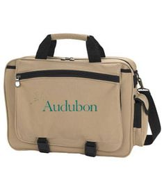 Your very own Audubon briefcase.