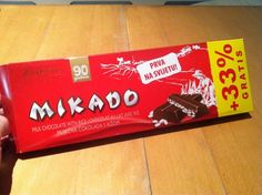 Got in a pile of Croatian chocolate from friends. Mikado milk chocolate with rice is sweet, but not enough to stop me.