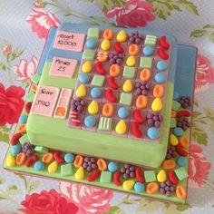'Candy Crush' Cake                                                                                                                                                                               «CaKeCaKeCaKe»