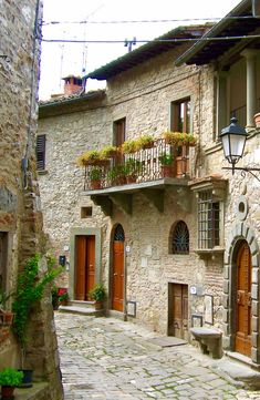 Greve in Chianti region of Tuscany, Italy. Photo taken by Gloria Bolton