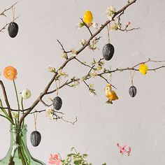 """Easter """"tree"""" quince branches"""
