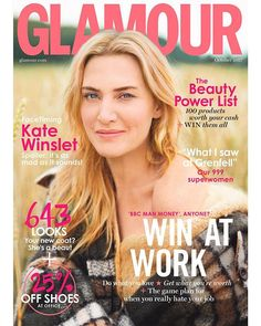Presenting our October cover star Kate Winslet!  We interviewed her over FaceTime and basically it was mad. Hit the link in the bio for all the details (plus her and Leo DiCaprio on hols - amazing) and get your copy next Thursday. Plus don't miss our interviews with the women in the emergency services who went to the aid of the Grenfell Tower fire - they tell their stories about that day. It's an incredible feature about people working in unimaginably difficult circumstances. We also…