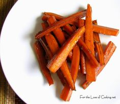 Asian Roasted Carrots - coconut aminos for soy sauce to be paleo