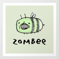UK-based freelance illustrator Sophie Corrigan pairs funny animal puns with her own adorable animal drawings to create a series of illustrations that will leave Animal Puns, Funny Animals, Cute Animals, Cute Puns, Funny Puns, Cute Animal Illustration, Animal Illustrations, Zombie Illustration, Wal Art
