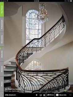 Love this railing Creating this railing