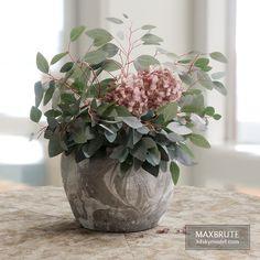 Bouquet of Eucalyptus with Hydrangea Eucalyptus Bouquet, Hydrangea Bouquet, Hydrangeas, Free 3d Models Download, Delonix Regia, 3d Model Library, Melaleuca, Plant Decor, Traditional House