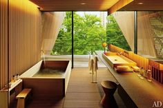 Simple and Stylish Tips Can Change Your Life: Natural Home Decor Wood Rustic natural home decor diy living rooms.Natural Home Decor Boho Chic Living Spaces simple natural home decor modern.Natural Home Decor House. Architectural Digest, Guest Bathrooms, Small Bathroom, Zen Bathroom, Asian Bathroom, Natural Bathroom, Washroom, Bathroom Fixtures, Master Bathroom