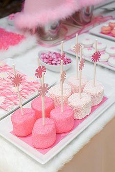 Pink Dessert Table - Santa Barbara Weddings by Merryl Brown Events