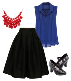 """Dressy office days."" by bobi-ezell on Polyvore featuring Fashionomics, Rasolli and Alexa Starr"