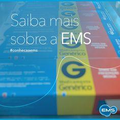 O portfólio de produtos da EMS é o maior do Brasil, atendendo a praticamente todas as especialidades médicas. #conheçaaEMS