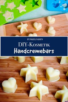 DIY DIY hand cream bars Instructions do it yourself self-made cosmetics Christmas campaign DIY hand cream recipe self-made cosmetics Diy Fest, Christmas Campaign, Homemade Cosmetics, Diy Bar, Sweet Almond Oil, Diy Skin Care, Hand Cream, Diy Crafts To Sell, Diy Beauty