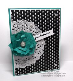 Cattail Designs: Stampin Up, Pals Paper Arts Sketch challenge #269, Just because.