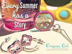 What's your summer story.   www.tiffanykratz.origamiowl.com
