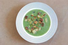 Fotorecept: Polievka z mangoldu a s klobáskovými krutónmi Ethnic Recipes, Food, Essen, Meals, Yemek, Eten