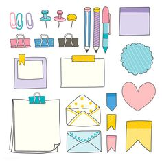 31 Simple Doodles You Can Easily Copy in Your Bullet Journal - Simple Life of a Lady Bullet Journal Banner, Bullet Journal Notes, Bullet Journal Aesthetic, Bullet Journal Writing, Bullet Journal Ideas Pages, Bullet Journal Inspiration, Journal Stickers, Planner Stickers, Note Doodles
