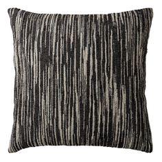 Lene Bjerre Freda Cushion - Black/Moss/White | Houseology