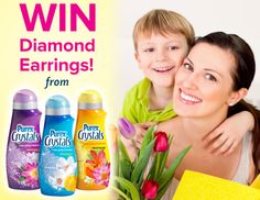 Win a Pair of Diamond Earrings free-stuff-unlimited.com