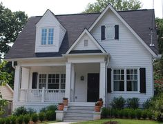 """Pretty Old Houses: Before and After """"Bump-Ups"""""""