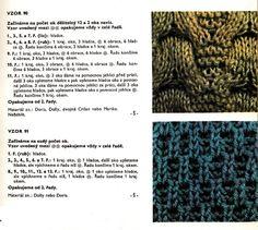 Vzory pro ruční pletení   Rok 1988