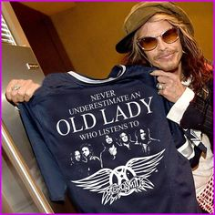 Damn straight, but don't call me old lady..everyone knows Aerosmith keeps ya young forever!✌️❤️