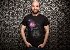 Daily Tee: Sound of Galaxy custom t-shirt design by Arindra Prakoso