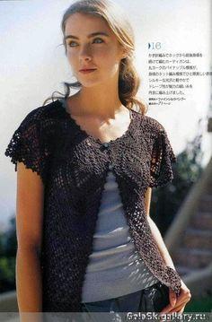 黑菠萝对襟短衫(附图解) - 如梅吟雪 - 如梅吟雪