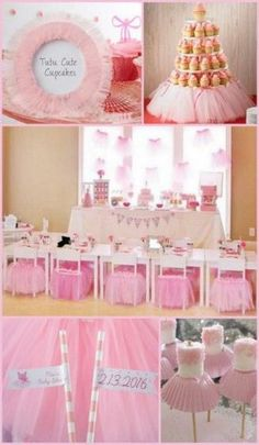 Super Baby Shower Ideas For Girls Themes Pink Tutus Ballerina Tutu Ideas Dance Party Birthday, Ballerina Birthday Parties, Girl Birthday Themes, Birthday Tutu, Princess Birthday, 2nd Birthday Parties, Birthday Ideas, Princess Party, Ballerina Party Decorations