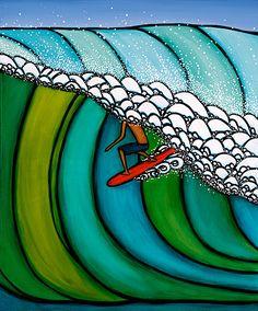 shine brite zamorano: surf's up!