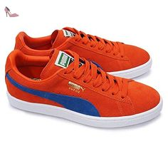 Puma Suede Classic, Baskets pour homme S Ponderosa Pine/Bianco - Chaussures puma (*Partner-Link)