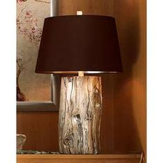 stump lamps