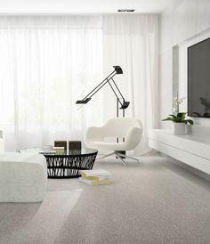 Klassisch eleganter Minimalismus - ganz in Weiss. #smartstrand #teppich #purismus #minimalist #SONNHAUS Elegant, Office Desk, Furniture, Home Decor, Minimalist Home, Minimalism, Classic, House, Classy
