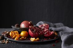 [Photography By Tara Striano]  makes me think of doing a still life painting ancient/modern...