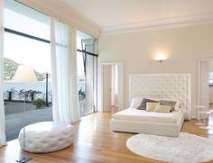 WING Bed | Bedroom | Anima Domus. Light, floor, wall