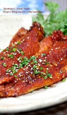 Hwangtae Cuisine / Grilled Hwangtae / How to Make Seasoned Gochujang Sauce- 황.- Hwangtae Cuisine / Grilled Hwangtae / How to Make Seasoned Gochujang Sauce- 황… Hwangtae Cuisine / Grilled Hwangtae / How to Make… - Korean Dishes, Korean Food, Asian Recipes, Healthy Recipes, Ethnic Recipes, Pike Recipes, Shellfish Recipes, Spicy Sauce, Food Plating